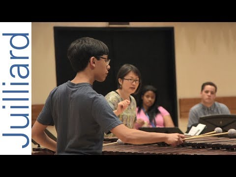 Experience the Juilliard Summer Percussion Seminar