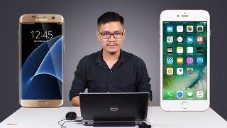 Tư vấn mua điện thoại: 7 triệu mua iPhone 6s Plus hay Galaxy S7 Edge