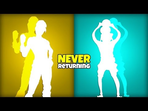 Skins & Emotes That Will NEVER RETURN Again..! (Item Shop) Fortnite Battle Royale