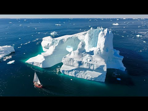 Sailing in Greenland | Drone footage