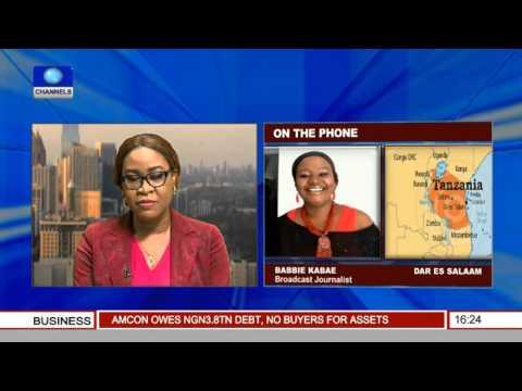 Network Africa: Tanzania President Magufuli Sweeps Street
