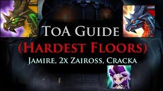 summoners war toa hardest floors jamire 2x zaiross cracka stage 80 lyrith rotation