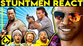Stuntmen React To Bad & Great Hollywood Stunts 27
