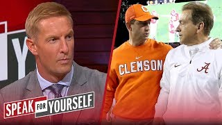 Is a Clemson-Bama title game bad for college football? Joel Klatt weighs in | SPEAK FOR YOURSELF