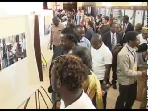 Kampala Art Biennale 2014 Public viewing
