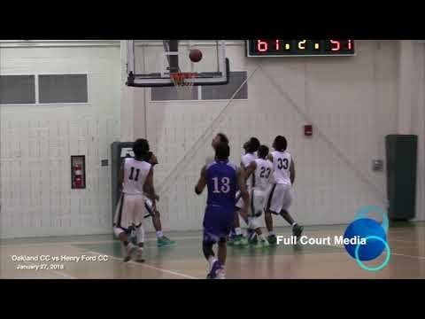 College Basketball Oakland CC Vs Henry Ford CC 2018