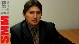 Спикер Андрей Харламов  о себе и о SMM SIBERIA 2013