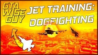 Gta 5 Online | 1v1 Jet Dog Fighting Tutorial (advanced)
