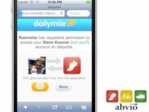 dailymile Integration in Runmeter, Cyclemeter, and Walkmeter 5.0