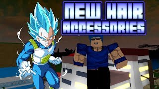 NEW ACCESSORIES AND HAIR *TEEN GOHAN AND VEGETA* IN DRAGON BALL Z FINAL STAND!! | Roblox
