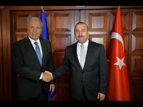 Commissioner Dimitris Avramopoulos visit to Turkey, 1/9/2016