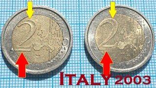 Coins 2003 Italy 2 euro  ➡ ➢ ➣ ➤ 555 EURO