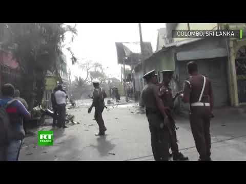 Sri Lanka: une camionnette explose près de l'église de Colombo