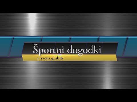 Športni dogodki v svetu gluhih – junij 2018