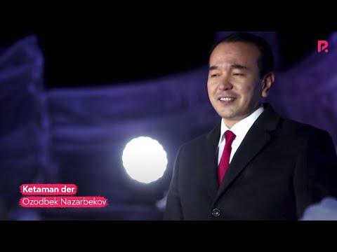 Ozodbek Nazarbekov - Ketaman der | Озодбек Назарбеков - Кетаман дер (Zamin SHOU) #UydaQoling