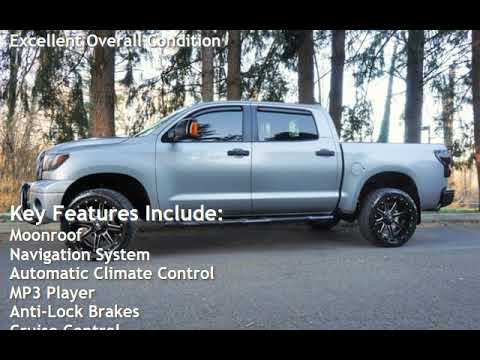 2007 Toyota Tundra Limited 4X4 2 Owners Navi Moon Roof 22 Leather for sale in Milwaukie, OR