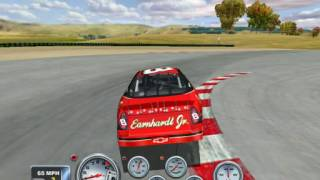 NASCAR Racing 4: The glitch on Sears Point doesn