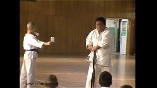 Fumio Demura uses belt as nunchaku   Legendary Budo Masters