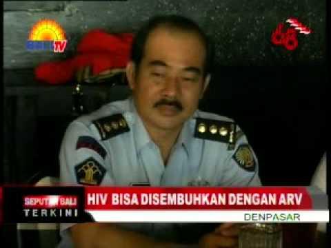 HIV  BISA DISEMBUHKAN DENGAN ARV