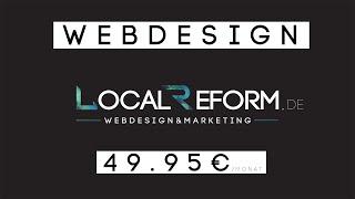 kosten internetseite erstellen lassen / Webdesign Agentur / Ab 49.95€ mtl.
