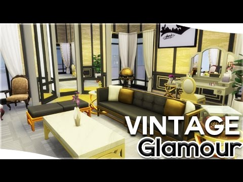 The Sims 4: Vintage Glamour Stuff || Build/Buy Review - YouTube