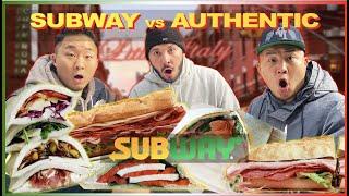 Is SUBWAY's Italian BETTER Than an AUTHENTIC Italian Sandwich? w/@Yamibuy
