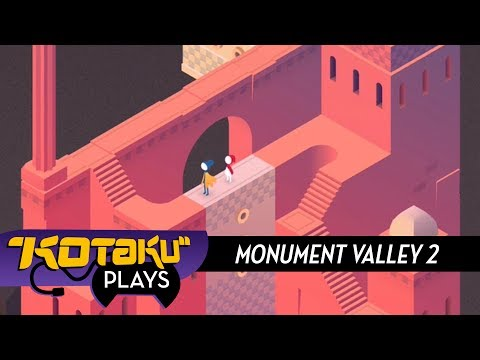 Kotaku Plays Monument Valley 2 (ASMR Warning)