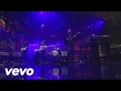 The Shins - No Way Down (Live On Letterman)