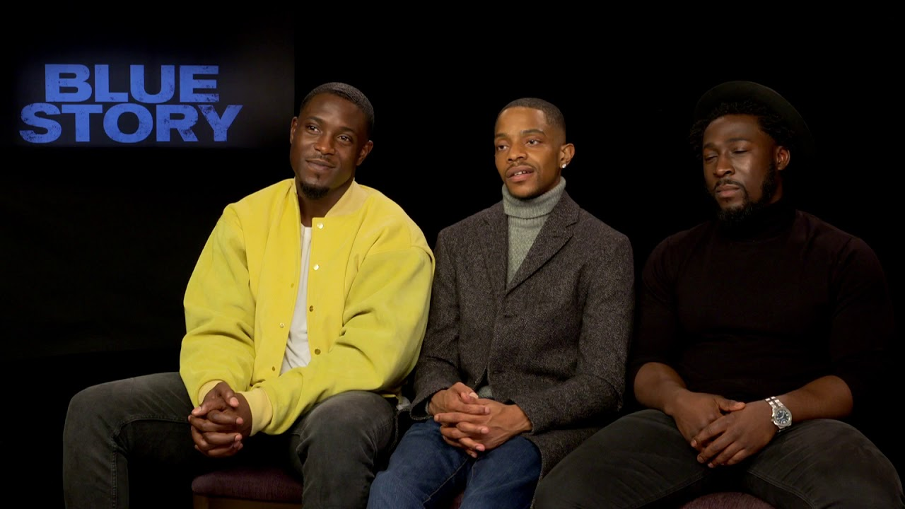Blue Story | Khali, Eric & Junior on 'Blue Story' Characters & More | Interview | MOBO
