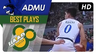 Thirdy Ravena Best Plays | UAAP 80 Men's Basketball