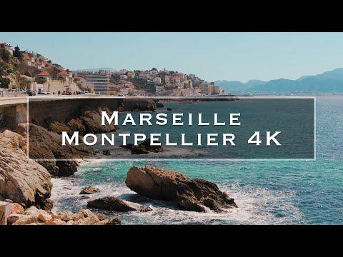 Marseille and Montpellier | 4K