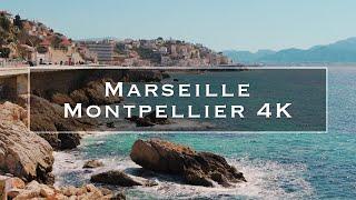 Marseille and Montpellier | 4K Video