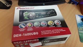 Обзор автомагнитолы Pioneer DEH 1600UB. Доступный каждому.