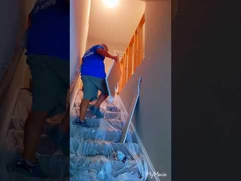 Carpet to Wood stairs DIY