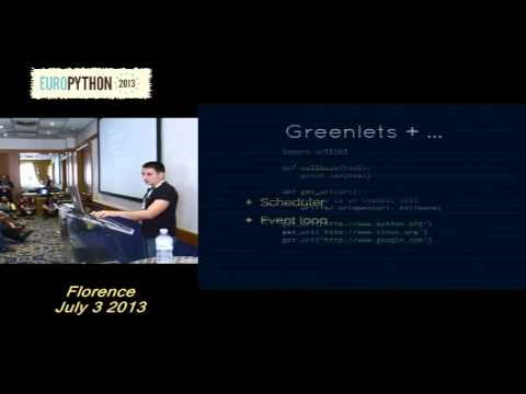 G.  Peretin - Greenlet based concurrency