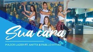 Sua Cara - Major Lazer ft Anitta & Pabllo Vittar - Easy Fitness Dance Coreografia Danca Ba ...