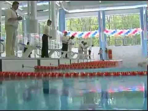 """Обнинск. Открытие спорткомплекса """"Олимп""""."""