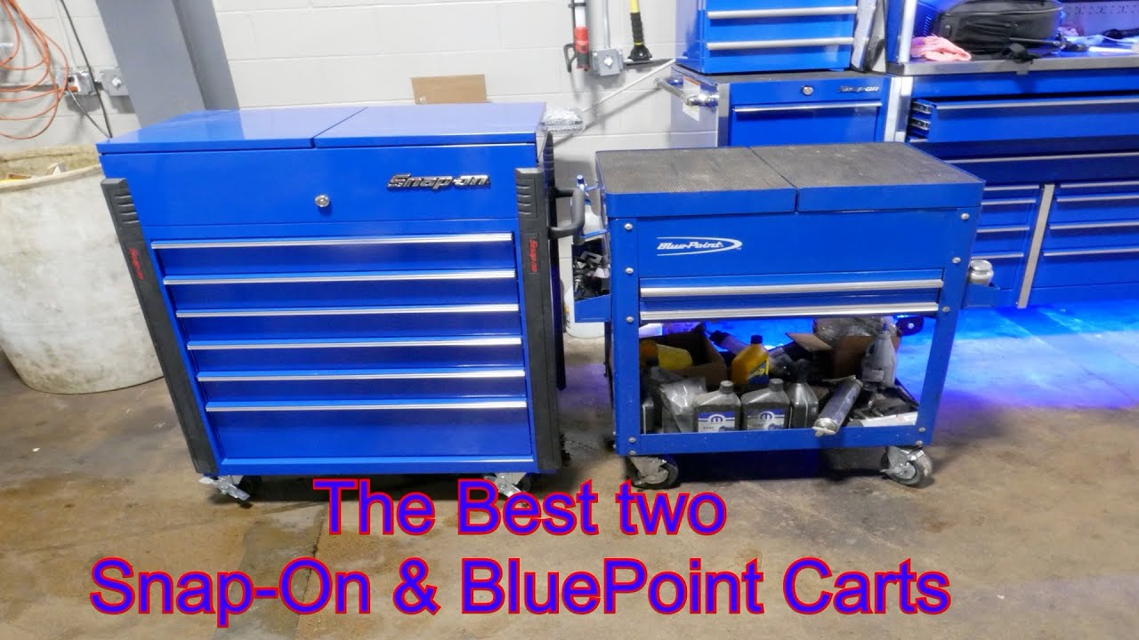 Blue Point Tool Cart >> Two Of The Best Snap On And Blue Point Carts Youtube