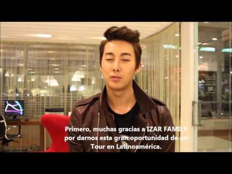 Saludos de Hyung Jun para Latinoamerica