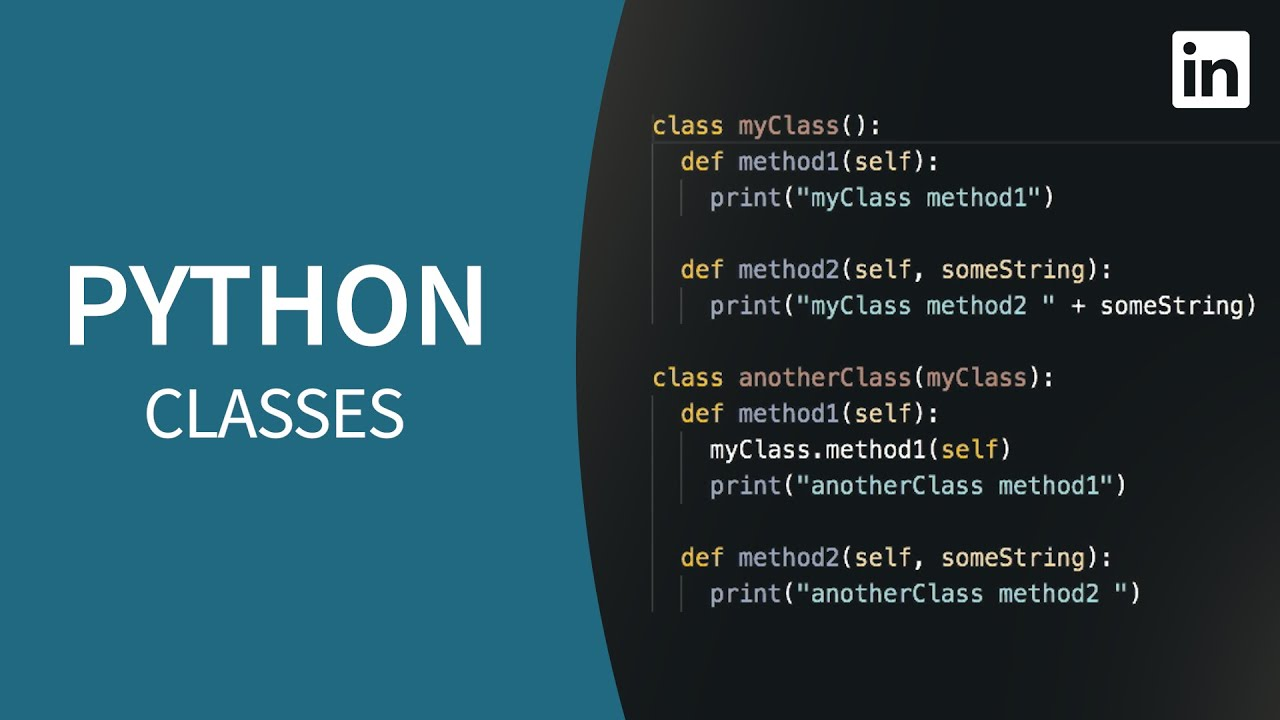 Python Tutorial - CLASSES for Object-Oriented Programming