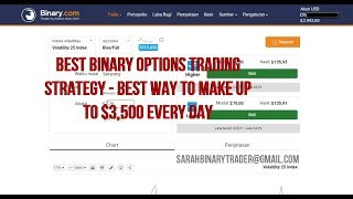 Best Binary Options Trading Strategy - Best Way To Make Up To $3,500 Every Day