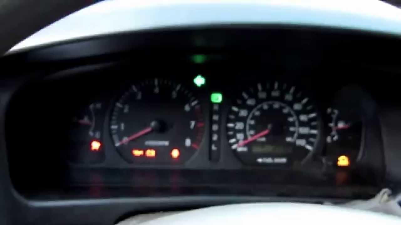 2002 Green Toyota Sienna
