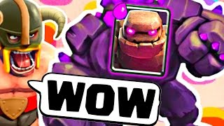 EZ 3 CROWN GOLEM! - Clash Royale