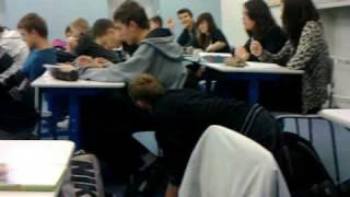 In class Blowjob
