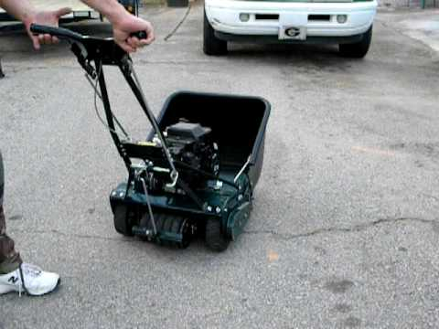 Craftsman 7 Blade Reel Mower With 3 75hp Engine