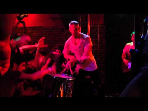The Dillinger Escape Plan - Free Show in Fullerton 1/19/2011 Final Song - Slidebar