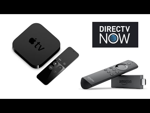 Free Apple TV or Amazon Fire TV Stick with DirecTV Now