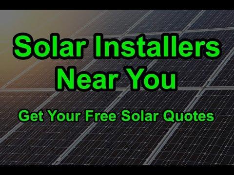 California Homeowners Get Free Solar Installation Quotes From California Solar Installers Near You