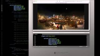 Der BODY der index.html (3 - Responsive Parallax Perspektiven)