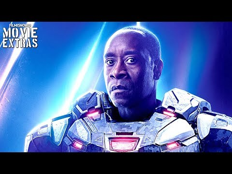 Marvel's WAR MACHINE - The Complete Story | Best Action Scenes Compilation